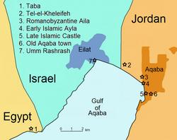 Schematische Karte