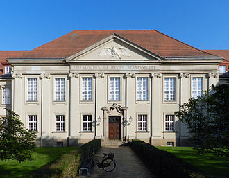 Prussian Privy State Archives - Main Entrance of the Privy State Archives