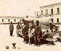 Archivo General de la Nación Argentina 1890 aprox Salta. Caciques fotografiados junto a un cañón español..jpg