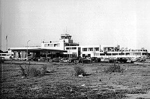 Aeroparque Jorge Newbery - Aeroparque in 1962.