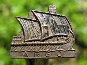 Argonauts Club - Argonauts' membership badge