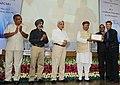 Arjun Ram Meghwal distributed the certificates, at the Valedictory Ceremony of IICA Certificate Programme (ICP) in Corporate Social Responsibility (CSR), at Gurugram, Haryana.jpg