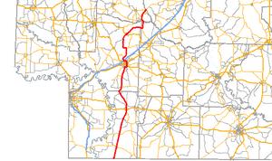 Arkansas Highway 29 - Image: Arkansas 29