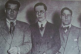 Francisco Luis Bernárdez - Roberto Arlt, Francisco Luis Bernardez and Roberto Ledesma (1930)