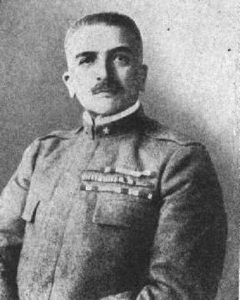 Armando Diaz, Chief of Staff of the Italian Army since November 1917, halted the Austro-Hungarian advance along the Piave River and launched counter-offensives which led to a decisive victory on the Italian Front. He is celebrated as one of the greatest generals of World War I. Armando Diaz.jpg