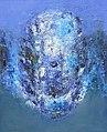 Armin Baumgarten, Kopf, 2004, zeitgenössische Malerei, zeitgenössischer Neo-expressionismus, Kunst des 21.Jahrhunderts, new German contemporary art, new figurative art, Martin Leyer-Pritzkow.JPG