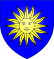 Arms of the St Cleere family of St Osyth, Essex.png