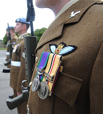 Army Air Corps (United Kingdom) - Army Air Corps personnel on parade, 2011.