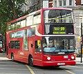 Arriva London North bus VLA128 (LJ05 BJU) 2005 Volvo B7TL Alexander Dennis ALX400, Southampton Row, route 59, 4 June 2011 (2).jpg