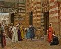 Arriving at the Mosque by Arthur von Ferraris.jpg