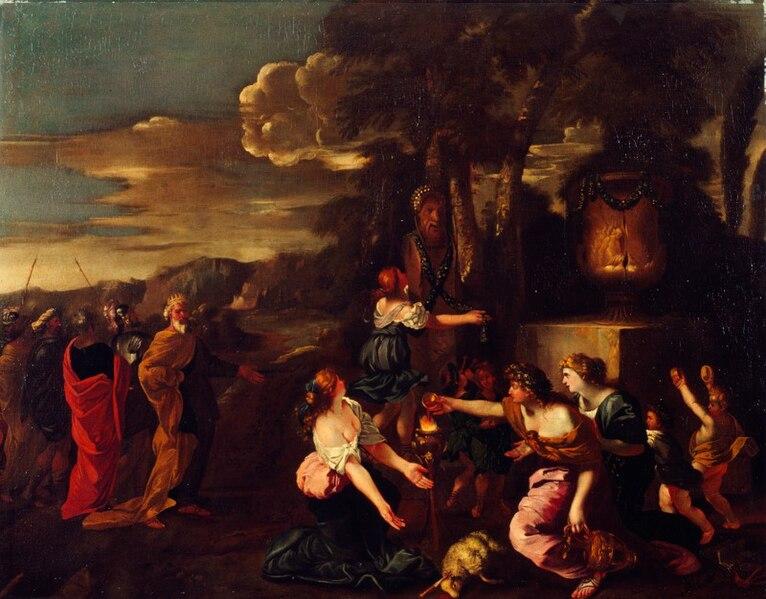 File:Artgate Fondazione Cariplo - (attribuito a Andrea de Lione), Salomone adora gli idoli.jpg