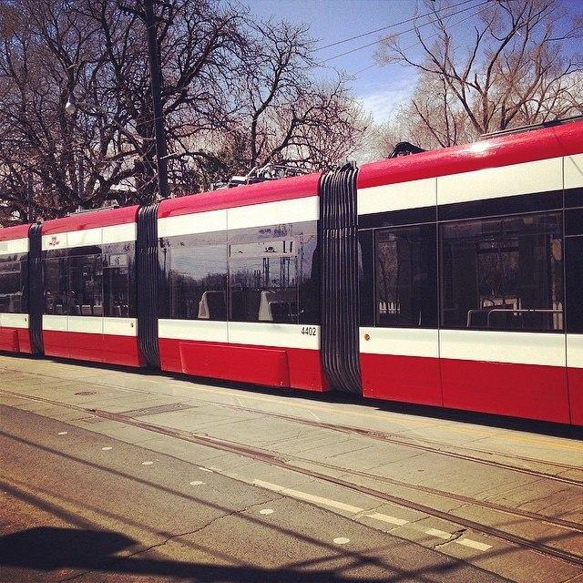 Articulated -ttc snake -streetcar -toronto