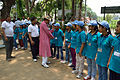 Arup Roy Meets Participants - Summer Camp - Nisana Foundation - Sibpur BE College Model High School - Howrah 2013-06-09 9704.JPG