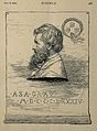 Asa Gray. Wood engraving by R. Lewis, 1885. Wellcome V0002380.jpg