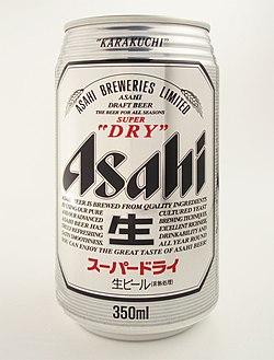 Asahi SUPER DRY 20110111.jpg