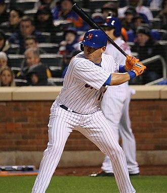 Asdrúbal Cabrera - Cabrera batting for the New York Mets in 2016