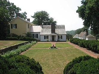 Highland (James Monroe house) - Highland, formerly Ash Lawn–Highland. Note: The yellow wing was added on by later owners.