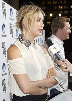 Ashley Benson, l'interprète d'Hanna Marin.