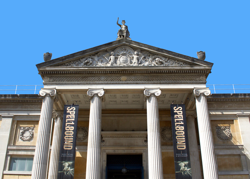 Ashmolean Museum Entrance August 2018