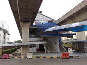 Asia Jaya Lrt Station Wikipedia