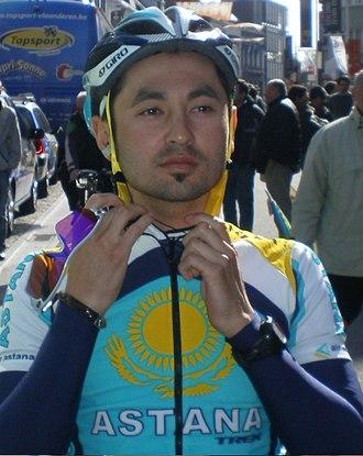 Assan Bazayev - Bazayev at the 2008 Driedaagse van West-Vlaanderen.