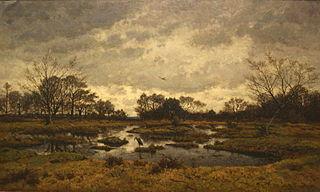Un jour de mars a la mare aux fées. Fontainebleau 1876