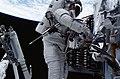 Astronauts Richard M. Linnehan and John M. Grunsfeld EVA (27990746376).jpg