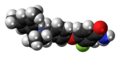 Aticaprant molecule spacefill.png