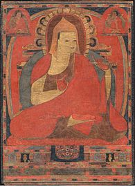 Atisha was a Buddhist (Pala) teacher, who helped establish the Sarma lineages of Tibetan Buddhism.