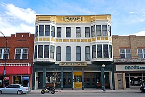 National Register of Historic Places listings in Laramie County, Wyoming - Image: Atlas Theatre Cheyenne WY