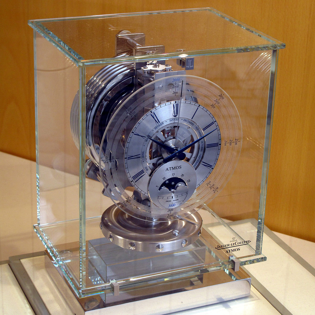 Atmos Clock Wikipedia