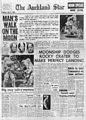 Auckland Star Apollo 11 Moon Landing Front Page.jpg