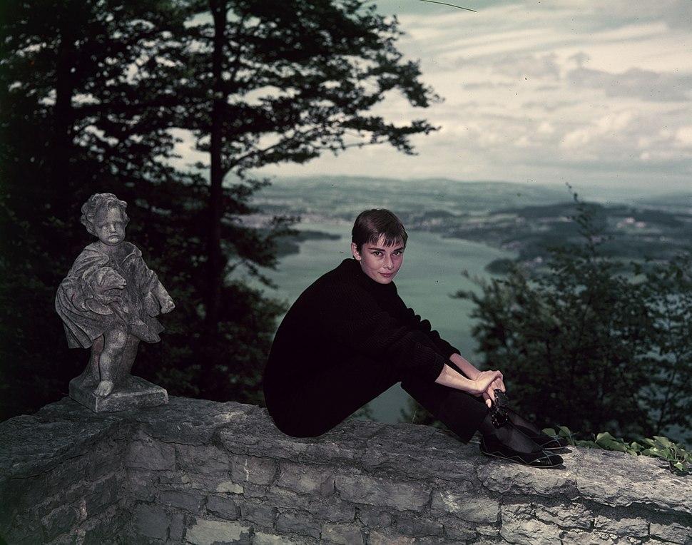 Audrey Hepburn auf dem Bürgenstock (16)