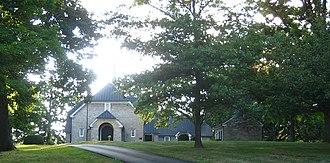 Augusta County, Virginia - Augusta Stone Church built in 1749