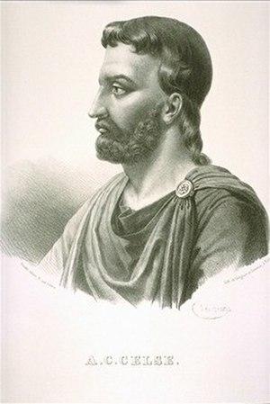 Aulus Cornelius Celsus - Image: Aulus Cornelius Celsus