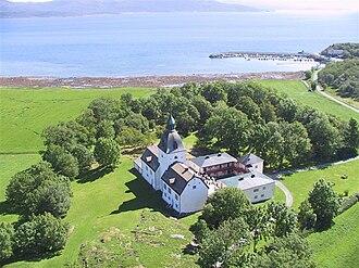 Jens Bjelke - Austråttborgen on the Trondheimsfjord is one of the oldest Norwegian manors