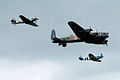 Avro Lancaster accompanied by Spitfire and Hurricane.jpg