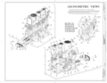 Axonometric Views, Engine; Details of Piston Rod, Crosshead, Walking Beams and Engine Controller - Steam Schooner WAPAMA, Kaiser Shipyard No. 3 (Shoal Point), HAER CAL,21-SAUS,1- (sheet 21 of 22).png