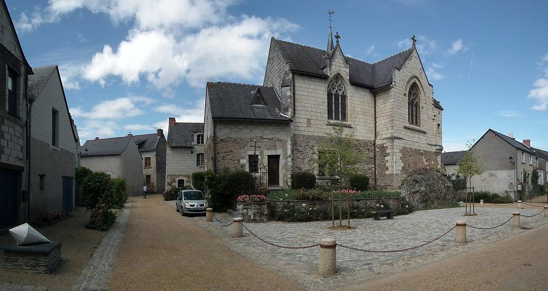 Église Notre-Dame, Béhuard, France