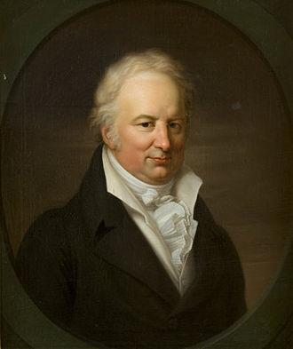Karl Böttiger - Karl Böttiger. Painted by Gerhard von Kügelgen, ca 1812, Tartu University Library