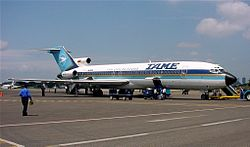 B727 TAME HC-BZR GYE June 2000.jpg
