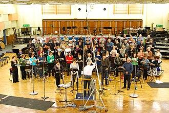 Maida Vale Studios - Image: BBC Singers at Maida Vale