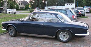 Hofmeister kink - Image: BMW 3200 CS