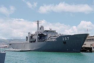 RSS <i>Endurance</i> (207) Endurance-class landing ships of the Republic of Singapore Navy