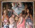 Bacchiacca, battesimo di cristo, con cornice del tribolo e di giovan battista del verrocchio, 02.jpg