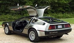 DeLorean DMC-12 de 1981.