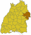 Baden Wuerttemberg Region Ostwuerttemberg.png