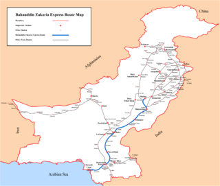<i>Bahauddin Zakaria Express</i>