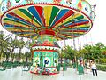 Baishamen Park - amusement park - swing ride - 01.jpg