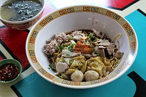 Hill Street Tai Hwa Pork Noodle - Bak chor mee at Hill Street Tai Hwa Pork Noodle in Singapore